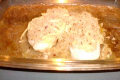 Geflügel: Hähnchenbrustfilet...knusprig überbacken an - Rezept