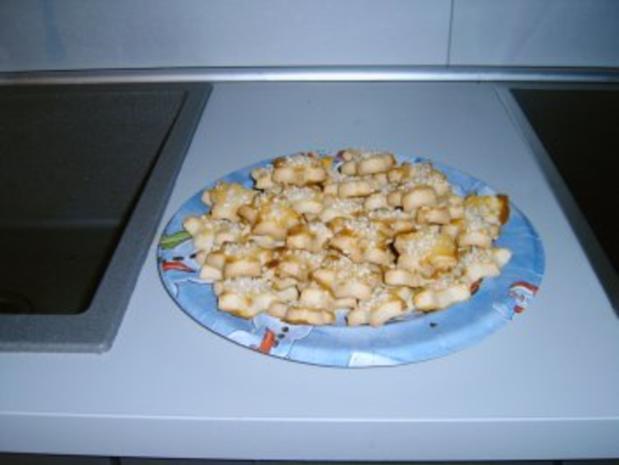 Marzipan - Mandel - Sterne - Rezept