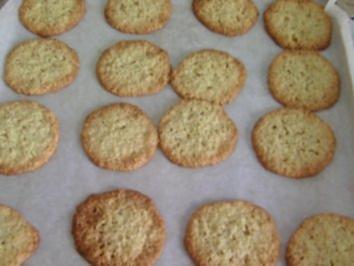 Rezept: Haferflocken-Kokos-Plätzchen