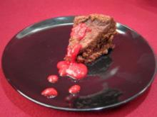Dunkle Schokoladen-Tarte - Rezept