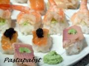 Dreierlei Sushi - Rezept