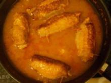 Kochen: Schweine-Rouladen mit Frischkäse-Füllung - Rezept