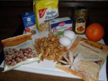 Apfel-Haselnussmakronen - Rezept