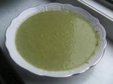 Lauch-Zitronen-Süppchen mit Majoran - Rezept