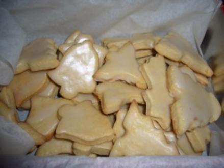 Kikis Amarettoplätzchen - Rezept
