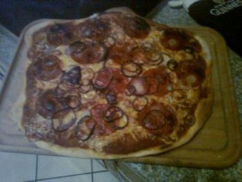 Pizza Mediteran - Rezept