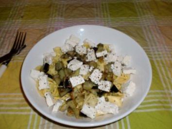 Tortellini mit Aubergine - Rezept
