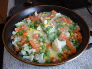 Aufläufe :  Gemüse-Auflauf - Rezept