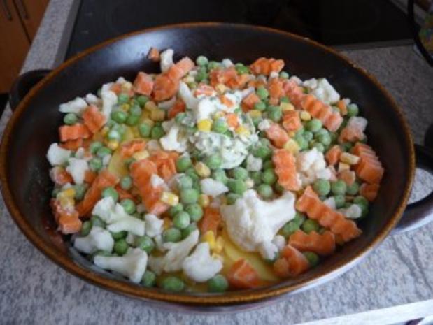 Aufläufe :  Gemüse-Auflauf - Rezept - Bild Nr. 7