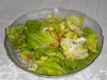 Ragout von Kaninchen mit Kartoffelstock und Salat - Rezept