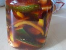 Zucchini - Eingelegte Zucchini - Rezept