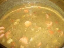 Suppen : Erbsen ~ Eintopf mit Majoran - Rezept