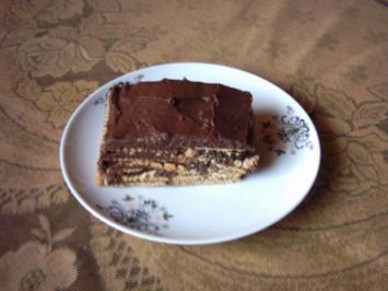 Kekskuchen ...Kalter Hund- Kalte Schnauze- Schwarzer Peter - Rezept
