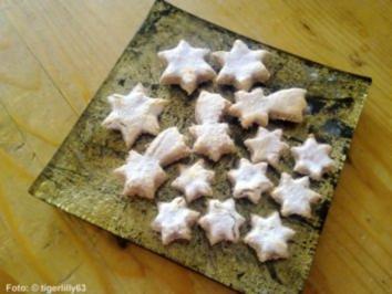 Weihnachten: Zimtsterne No. 2 - Rezept