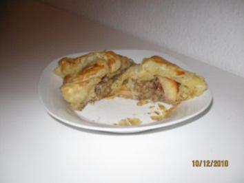 Bratapfel im Blätterteig - Mantel - Rezept