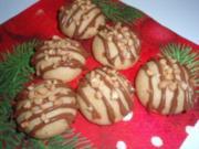 Kekse: Nougat - Kugeln - Rezept
