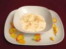 Rosen-Milchreis - Rezept