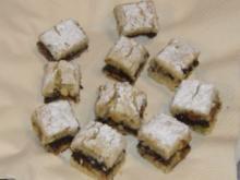Weihnachtsgebäck  Stollen-Mohn-Würfel - Rezept