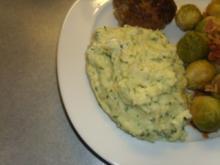 Beilagen: Kartoffelpüree mit Bärlauchcreme - Rezept