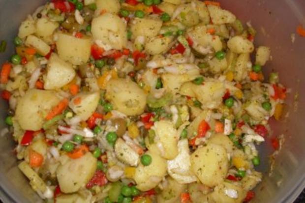 Bunter Kartoffelsalat .... - Rezept - Bild Nr. 3