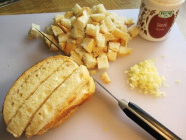 Kartoffelsuppe mit würzigen Croutons ... - Rezept - Bild Nr. 3