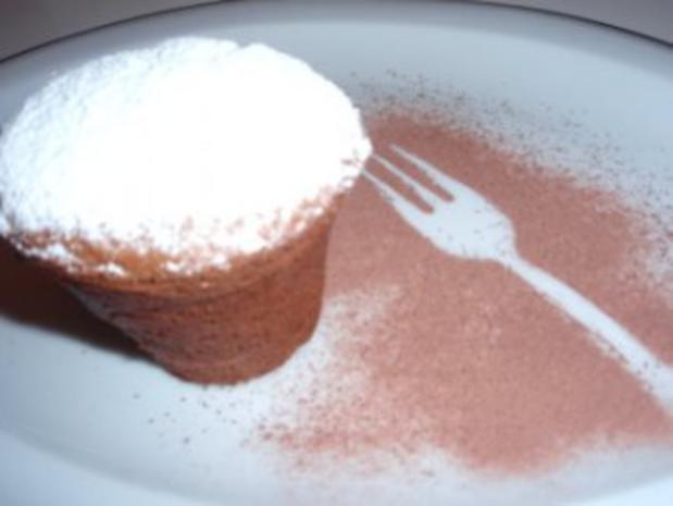 Muffins: Schokolade - Schnee - Muffins - Rezept - Bild Nr. 4