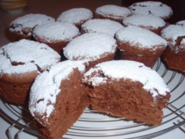 Muffins: Schokolade - Schnee - Muffins - Rezept - Bild Nr. 3