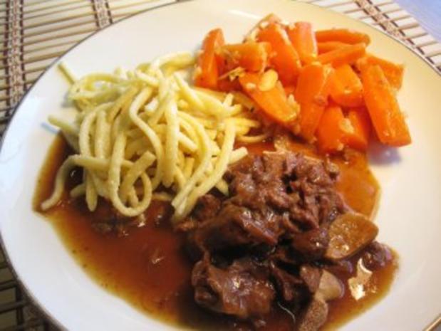Möhren-Gemüse mit Knoblauch und Mandeln - Rezept - Bild Nr. 5