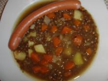 Suppe : Heißer Puy-Linsen-Eintopf für kalte Tage - Rezept
