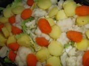 Gemüse : Auflauf mit viel Gemüse, so bunt und köstlich - einfach genial - Rezept