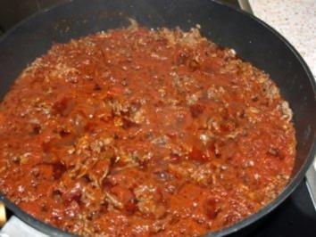 Bologneser Soße die pikante Variante - Rezept