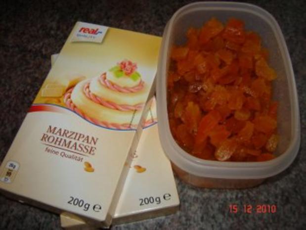 Konfekt : Aprikosen-Marzipan-Bissen - Rezept - Bild Nr. 4