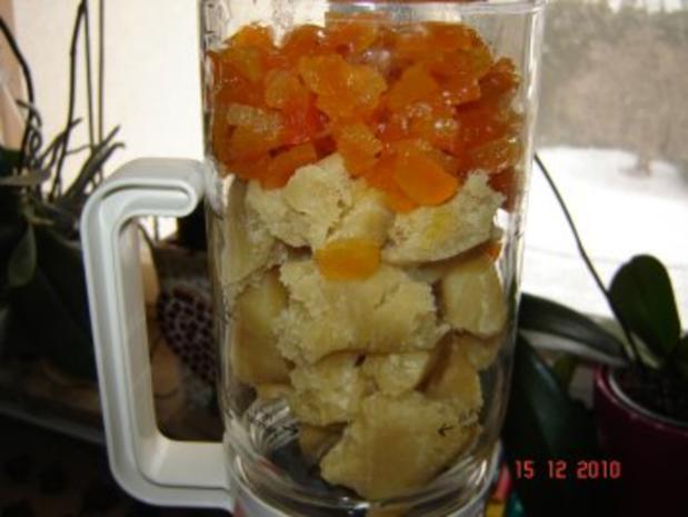 Konfekt : Aprikosen-Marzipan-Bissen - Rezept - Bild Nr. 5