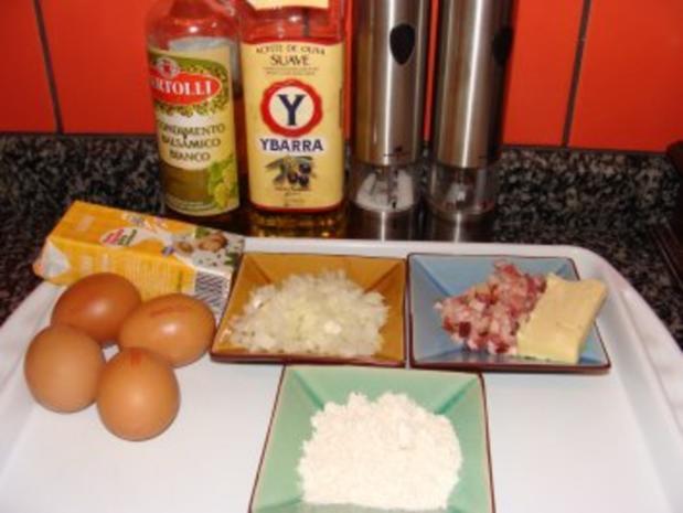 Pochierte Eier mit süß-saurer Specksauce - Rezept - Bild Nr. 3