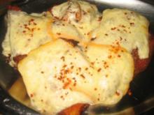 Raclette-Zwiebel-Schnitzel... - Rezept