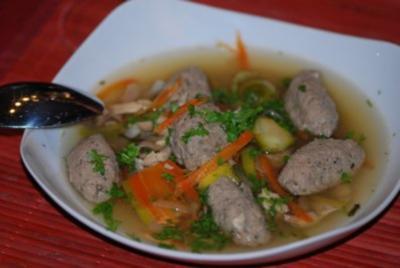 Oma`s schlesische Leberkloss-Suppe - Rezept