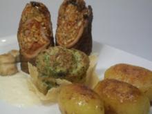 Involtini 2.0 / Brokkoli-Soufflé/ Schmörkes/ Parmesanschaum - Rezept