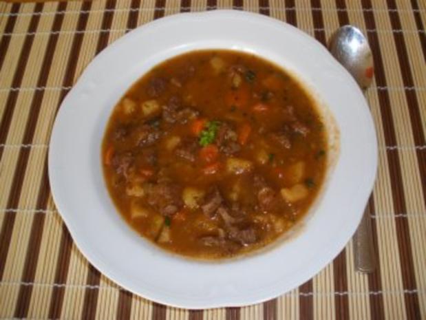 Fleischgerichte - Pikanter Rindfleischeintopf - Rezept - Bild Nr. 2