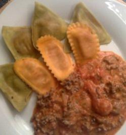 Teigtaschen Ravioli - Rezept