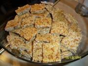Leo´s Sesam-Kerne-Riegel - Rezept