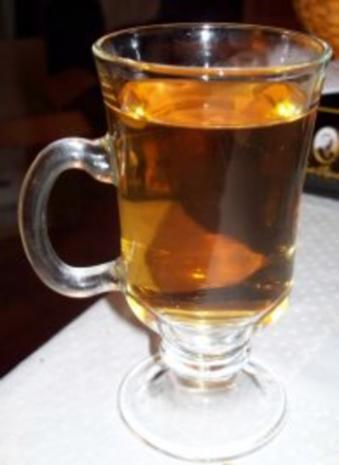 Apfelpunsch mit Calvados - Rezept