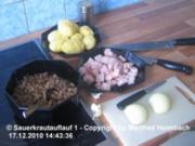Auflauf – Manfred's Sauerkraut Auflauf - Rezept