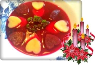 Rote Bete Suppe - Rezept
