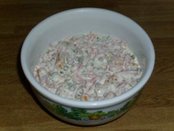 Schneller Leipziger Allerlei Fleisch Salat - Rezept