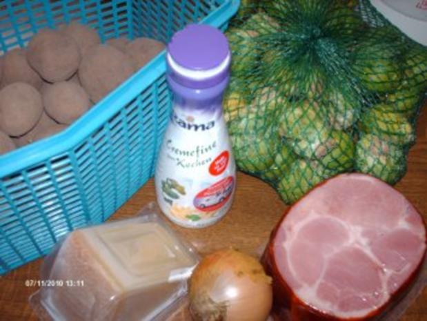 Rosenkohlauflauf - Rezept