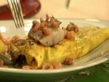 Omelette mit Champignons a la Marquard - Rezept