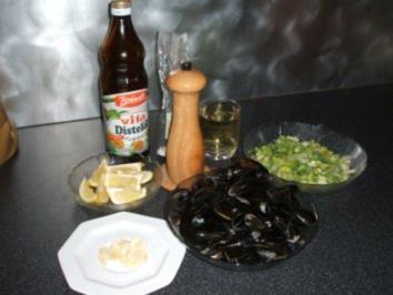 Rezept: Muscheln in Weißweinsoße / Cozze alla marinara