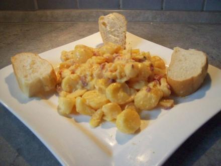 Kartoffelsalat mit Speck - Rezept