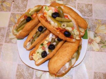 Rezept: FRIKASSE - Tunesisches Sandwich