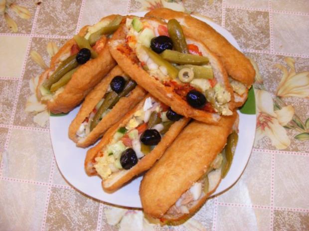 FRIKASSE - Tunesisches Sandwich - Rezept - Bild Nr. 2